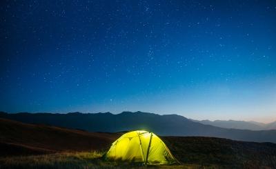 Вечерняя палатка
