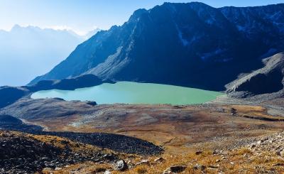 Озеро Сылтран в Приэльбрусье